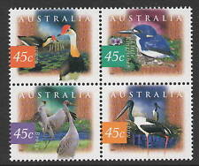 Australia Sc# 1531a Flora and Fauna 1996-99, Vf Mnh Block of 4
