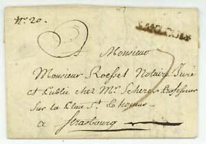 SAARLOUIS 1775 Sarrelouis Regiment Bouillon Storr Strasbourg Armee