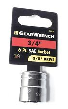 """Gearwrench 3/8"""" Drive 3/4"""" 6Pt. SAE Socket 80358"""