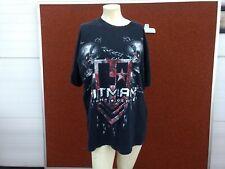 Hitman Fight Gear 2 Skulls Black XL T-Shirt j38