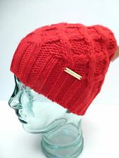 MICHAEL KORS Women's Winter Hat Beanie* Red One Sz Fits Most  New