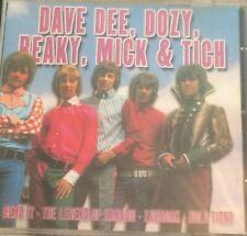 DAVE DEE, DOZY, BEAKY, MICK & TICH  / Cd / Freepost.
