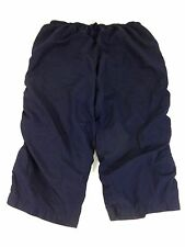 JUST MY SIZE WOMENS NAVY POLY BLEND CASUAL ATHLETIC PANTS SIZE 46/48 CUTE!