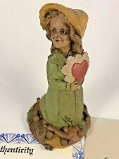 Peg 1989 Tom Clark Gnome Signed Figurine 5085 Coa Story 25