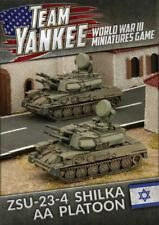 Team Yankee Oil Wars Israeli ZSU-23-4 Shilka AA Platoon TIBX06
