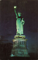 Postcard Statue Of Liberty Liberty Island New York Posted 1957