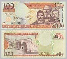Dominikanische Republik / Dominican Republic 100 Pesos 2011 p184b unz.