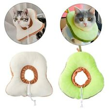 Pet Anti-bite Recovery Collar Toast bread Avocado Soft Neck Cone For Dogs Cats