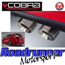 """Cobra Focus ST250 MK3 Turbo Back Exhaust 3"""" Non Res & De Cat Downpipe FD47d New"""