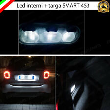 KIT FULL LED INTERNI + TARGA SMART FORTWO 453 / FORFOUR 453 CABUS NO ERROR