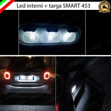 KIT FULL LED INTERNI + TARGA SMART FORTWO 453 / FORFOUR 453 CABUS NO ERROR