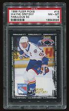 1996 Fleer Picks Fabulous 50 Wayne Gretzky #15 PSA 8