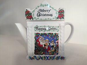 Wade English Life Christmas Collection Teapot Series No.1 Santa's Grotto