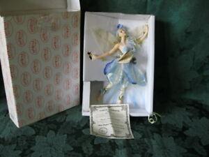 "Show Stoppers Florence Maranuk Collection Fairy Doll  ""Bleu"" w/box & COA 9inch"