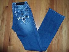 ROCK REVIVAL Designer Jeans Size 8/29 KORI B6 Bootcut