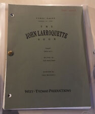 Super rare JOHN LARROQUETTE SHOW 'EGGS' SEASON 1 EPISODE 17 SCRIPT FINAL DRAFT