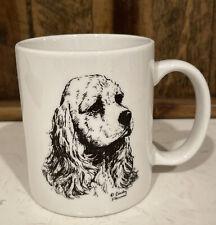 Cocker Spaniel Mug Cindy Farmer Signed Artist Rosalinde Usa Euc