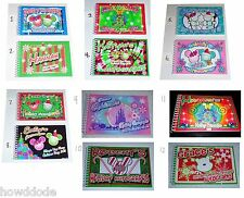 Personalized Disney CHRISTMAS HOLIDAY Autograph Book MULTIPLE CHOICES