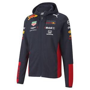 Formel 1 Aston Martin Red Bull Racing Teamline Kapuzen Sweatjacke 2020 von Puma
