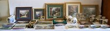 THOMAS KINKADE COLLECTION Lot of 38 ACCENT PRINTS-PLATES-CUPS-BOOKS Beautiful
