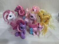 Vintage Lot of 7 My Little Pony MLP G3 Classic 2002-2007  Hasbro