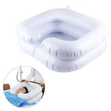 Portable Travel Hair Washing Aids Shampoo Sink Washbasin Inflatable Blow Basin