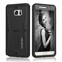 Galaxy S7 Edge Case built in [Screen Protector][Full body]Shock Reduction Bumper