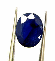 2.58 Ct Certified Natural Blue Sapphire Loose Gemstone Oval Cut Stone - 132076