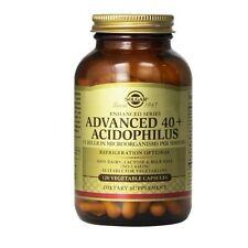 Solgar Advanced 40+ Acidophilus Vegetable Capsules 120
