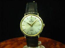Precimax 18kt 750 oro funcionan reloj Hombre/calibre Felsa 320