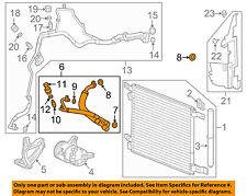 Cadillac GM OEM 10-15 SRX AC A/C Air Conditioner-Pressure Hose 23373753