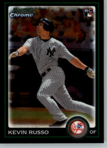 2010 Bowman Draft Picks Chrome  #BDP42 Kevin Russo RC - Yankees Rookie