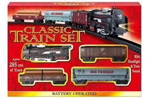 NEW Classic Model Train Set B/O | Railway Educational Tank Engine | ihartTOYS