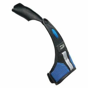 Daiwa DG-70009 Blue Finger Fishing Protector Braid Dexterity Leather Neoprene