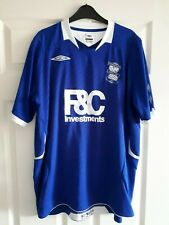 Birmingham City FC Blues Home Blue Umbro 2008 / 09 Football Shirt Size XL KRO