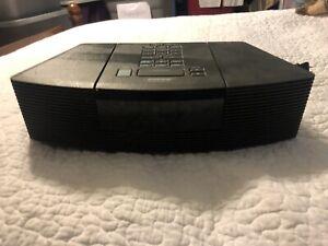Bose Wave Radio AM/FM CD Player AWRC-1G Black Tested Works