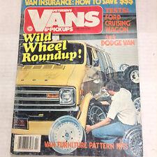 Petersen's Vans & Pickups magazine Wild Wheel Roundup April 1979 060117nonrh