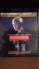 Ex Machina 4K UHD Blu-ray