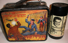 Rare error Vintage Lunchbox & Thermos Set 1969 The Wild Wild West