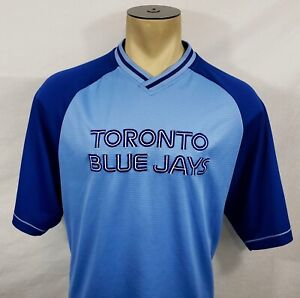 Majestic Cooperstown Collection Toronto Blue Jays pullover baseball jersey XL