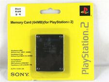 64MB PS2 Tarjetas De Memoria Para Sony PlayStation 2 videojuegos paquetes de expansión