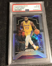 2019-20 Panini Prizm Lebron James Silver Prizm PSA 10 #129 Los Angeles Lakers 🔥