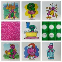 Barney Memory Game SPARE REPLACEMENT PIECES PARTS ONLY - You Pick
