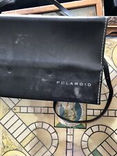 Polaroid Land Camera Automatic 100 With Case And Flash, Interesting Back Story