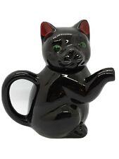 Lucky Black Cat Minature Tea Pot 50s 60s Style,Decorative,Ornamental,FAST FREE P