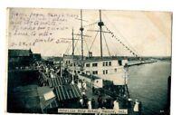 Venice California Cabrillo Ship Hotel c.1908 Postcard CA 21