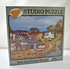 """Mary Ann Vessey Heartland Bits & Pieces Puzzle - 500 Pieces 16"""" x 20"""" New Sealed"""