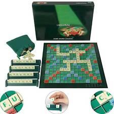 Scrabble Brettspiel Kinder Erwachsenenbildung Spielzeug Puzzle-Spiel Geschenk
