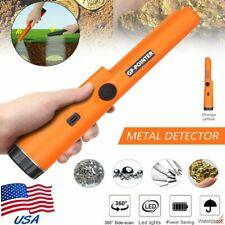Waterproof Metal Detector Pro Pinpointer Gold Digger Hunter Sensitive Tester Us
