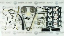 VAUXHALL ASTRA 1.4 16V Z14XEP TWINPORT HEAD GASKET SET BOLTS TIMING CHAIN KIT